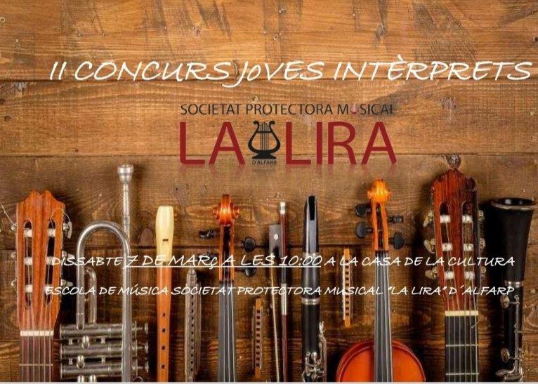 II Concurs de joves intèrprets Escola SPM La Lira
